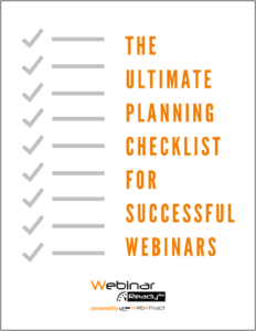 Ultimate Planning Checklist with border