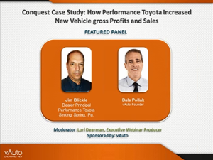 Conquest Case Study: How Performance Toyota Increased New Vehicle Gross Profits and Sales