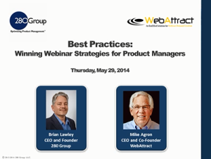 Best Practices: Winning Webinar Strategies for Product Managers