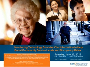 Help Boost Community Service Levels and Occupancy Rates