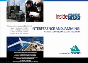 GNSS Interference and Jamming: Causes, Consequences, and Solutions