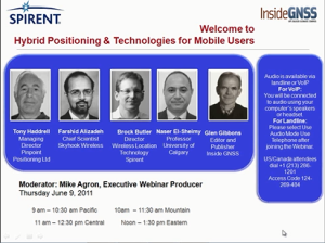 Aerospace Hybrid Positioning & Technologies for Mobile Users