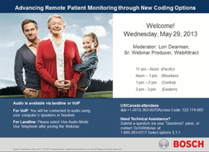 Industry Sector Healthcare Life Sciences - Advancing Remote Patient Monitoring through New Coding Options