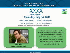 Industry Sector Small Medium Business - Sales Unstuck: How to get your sales growing, fast.