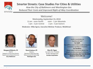 Smarter Streets: Case Studies for Cities and Utilities – Learn How the City of Baltimore and Washington Gas Reduced Costs