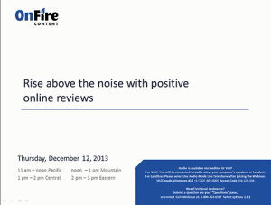 Industry Sector Small Medium Business - How to Get Your Best Customers to Post Online Reviews