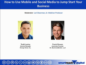 Industry Sector Small Medium Business - How to Use Mobile and Social Media to Jump Start Your Business