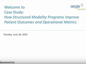 How Structured Modality Programs Improve Patient Outcomes and Operational Metrics